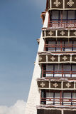 Detail of the Potala Palace, Tibet Royalty Free Stock Image