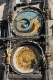 Detail Prague Astronomical Clock, Stock Image