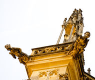 Detail of Prague Castle Royalty Free Stock Images