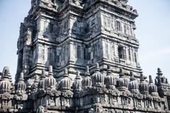 Detail of Prambanan Hindu Temple in Indonesia Royalty Free Stock Image