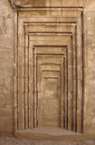 Detail at Precinct of Amun-Re in Egypt Royalty Free Stock Photography