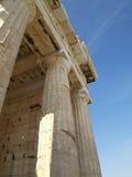 Detail of the Propylaea ,Acropolis, Athens Greece Royalty Free Stock Photos