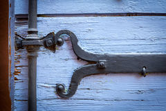 Detail of provencal ironwork Stock Photography