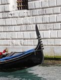 Detail of the prow of the Gondola in Venice Royalty Free Stock Photography