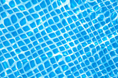 Detail of pure water in the swimming pool Royalty Free Stock Image