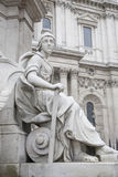 Detail on Queen Victoria Memorial outside St Pauls Cathedral, Lo Stock Photography