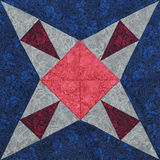 Detail of the quilt Royalty Free Stock Photos