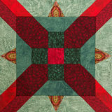 Detail of the quilt Royalty Free Stock Photography
