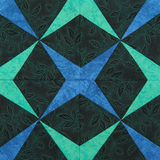 Detail of the quilt Royalty Free Stock Images