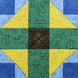 Detail of the quilt Stock Photography