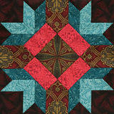 Detail of the quilt Royalty Free Stock Image