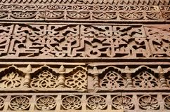 Detail of Qutub Minar complex in Delhi,Uttar Pradesh,India Royalty Free Stock Photos