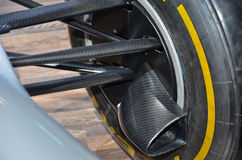 Detail of a racing car 1 Royalty Free Stock Photo