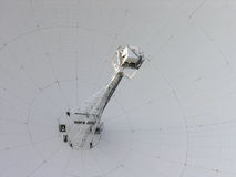Detail of radio telescope Royalty Free Stock Image