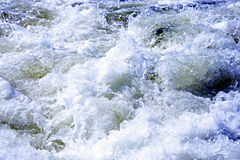 Detail of a raging sea  as background. Royalty Free Stock Images