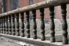 Detail of a railing Stock Images