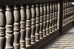 Detail of a railing Royalty Free Stock Images