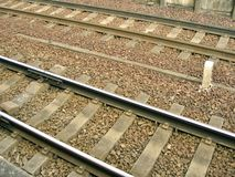 Detail - Railway Track Stock Image
