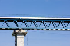 Detail of railway viaduct Royalty Free Stock Image