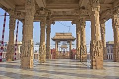 Detail of Rangaji temple Royalty Free Stock Images
