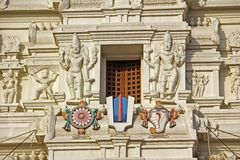 Detail of Rangaji temple Stock Photography