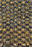Detail of a rattan chair back Royalty Free Stock Photo