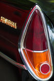 Detail rear brake light vintage car Royalty Free Stock Images