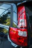 Detail on the rear light of a car. Stock Photography