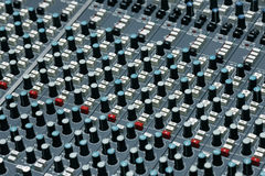 Detail from a recording studio Stock Images
