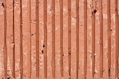 Detail of a red brick Stock Image