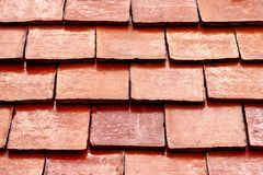Detail red rooftop Stock Image