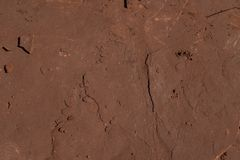 Detail of red sandstone royalty free stock photos