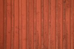 Detail of a red shed Stock Photography