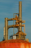 Detail of a refinery 12. This refinery is located in East Montreal. Lens: Sigma 70-200 2.8 EX APO HSM Stock Photos