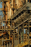 Detail of a refinery 7. This refinery is located in East Montreal. Lens: Sigma 70-200 2.8 EX APO HSM Stock Photography