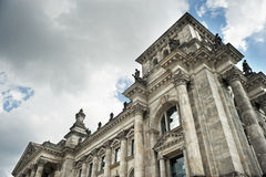 Detail of Reichstag, Berlin, Germany Royalty Free Stock Images