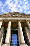 Detail of The Reichstag, the German Parliament Stock Photography