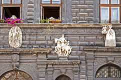Detail of renaissance architecture Royalty Free Stock Images