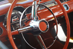 Detail of retro car Stock Photography