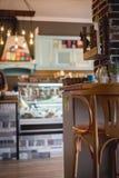 Detail of a retro restaurant interior Stock Image
