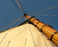 Detail of Rigging Stock Photography
