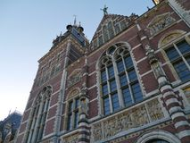 A detail of the Rijksmuseum in Amsterdam Stock Photo