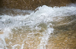 Detail of a River Current Royalty Free Stock Images