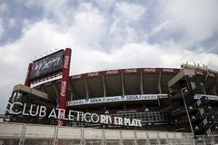 River Plate Stadium in Buenos Aires, Argentina Royalty Free Stock Image