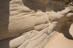 Detail of a rock, island Malta Stock Photos
