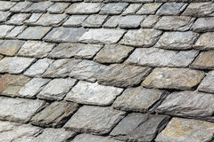 Detail of Rock Shingles Stock Photo