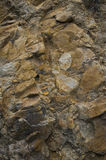 Rock texture. Detail of rock texture background Royalty Free Stock Photos