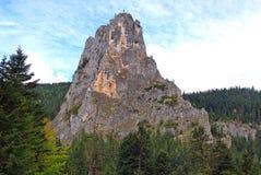 Detail of rocky peak Stock Photo