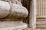 Detail of the roman amphiteatre in Verona, Italy Royalty Free Stock Images