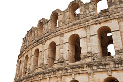 Detail of the roman amphitheater Royalty Free Stock Images